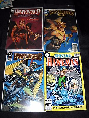 132 Hawkman Hawkworld Full High Grade Runs Nm Johns