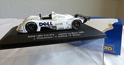 IXO 1.43 Scale LM1999 BMW LMR V12 # 15 Winner Le Mans 1999