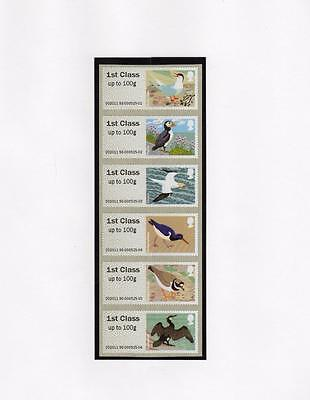 Specialised Collection Of Post & Go Labels On Four Pages