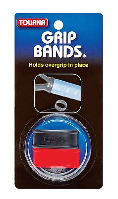 Unique Tourna Tennis Racquet Silicone Grip Bands To Hold Replacement Overgrip