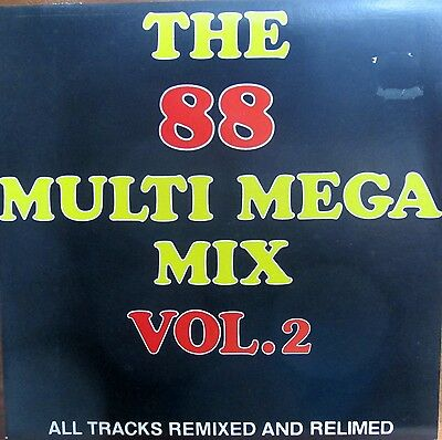Maxi-Single -  The 88 Multi Mega Mix Vol.2  - All Tracks Remixed And Relimend