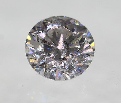 certifié 0.32 Carats - G SI2 Rond Brillant Naturel Ballant Diamant 4.27mm VG