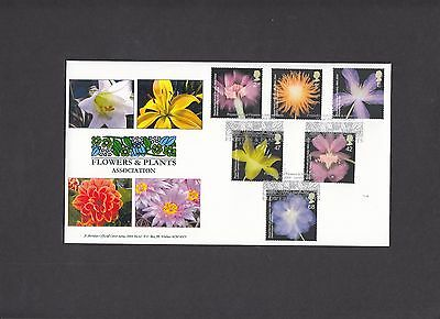 2004 RHS Flowers & Plants Association Sheridan Official FDC. 1 of 82 covers