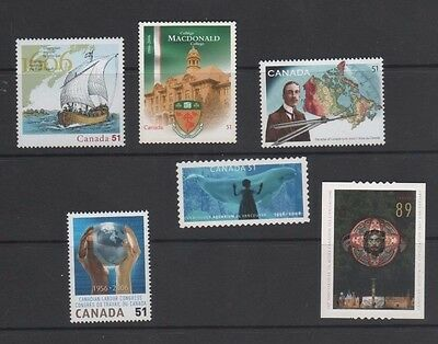 Canada 2006 6 Mint Issues