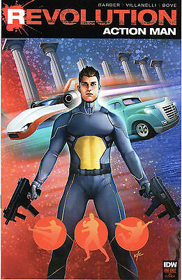 Revolution Action Man #1 1:10 RI Variant Cover IDW