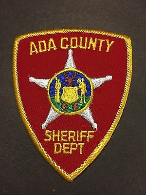 Ada County Idaho  Sheriff  Shoulder Patch