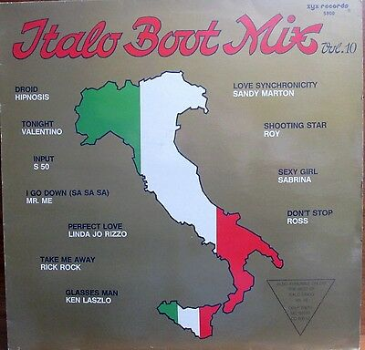 Maxi-Single -  Italo  Boot Mix -  Volume 10 ................................1988