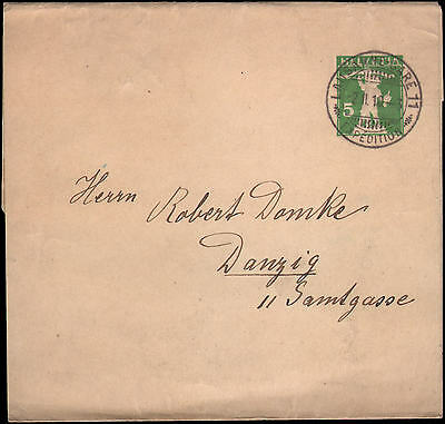 wrapper to Danzig, 1910