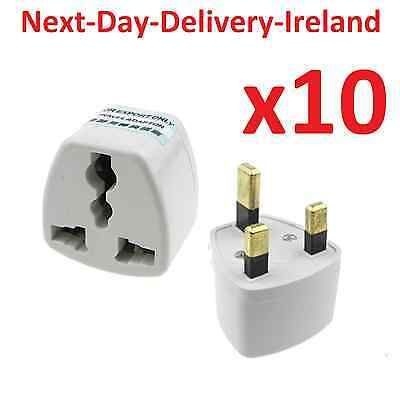 10x Universal Travel Adapter Power Plug UK US EU AU Adaptor Converter Charger