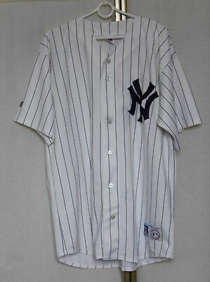Vintage New York Yankees MLB Russell Athletic Baseball Jersey Shirt XL