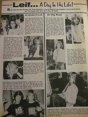 Leif Garrett, Full Page Vintage Clipping