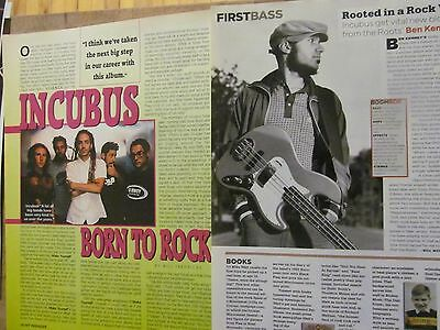 Incubus, Lot of TWO Full Page Clippings