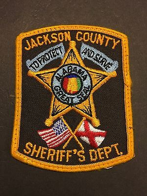 Jackson  County Alabama  Sheriff Shoulder  Patch Used