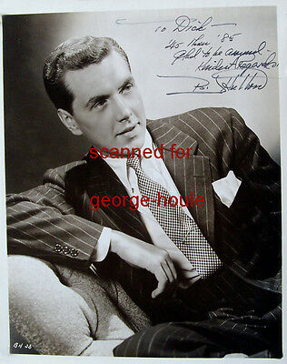 Robert Hutton - Photograph - Autograph - 1945 - The Saint - Tales From The Crypt