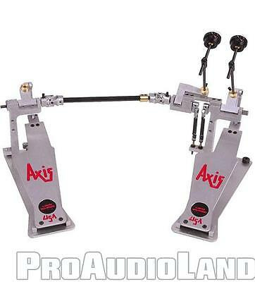 AXIS Percussion Longboards A Double Kick Bass Drum Pedal A-L2 NEW