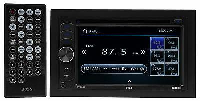 "Boss Audio BV9341 6.2"" 2-Din In-Dash DVD Player Receiver Stereo USB/SD/MP3/AM/FM"