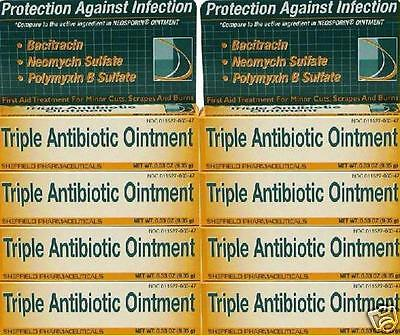 10 Triple Antibiotic Ointment Cream Dr Sheffields First Aid Infection Cuts Burns