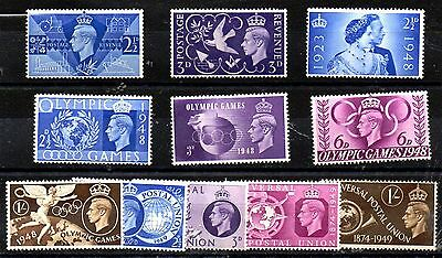 Stamps From Great Britain 1946.