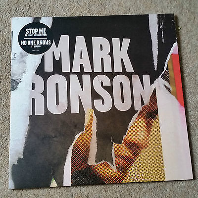 "Mark Ronson 10"" Stop Me If You Think.  Smiths Morrissey cover"