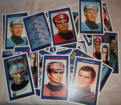 Captain Scarlet and the Mysterons. Giant card game