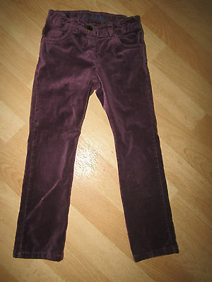 Girls Velour Mini Boden Trousers Age 6 Years