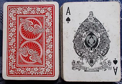ANTIQUE PLAYING CARDS -  Goodall And Son   52+ J