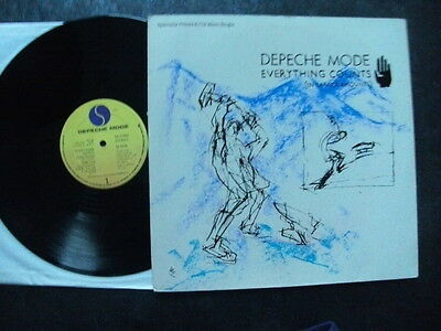 "Depeche Mode Canadian 12"":""everything Counts""(Long Version).1983 Sire+Pic.cover"
