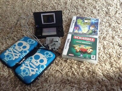Nintendo DS with 2 games Case And Charger