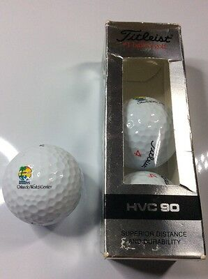 Set of 3 boxed golf balls - ORLANDO WORLD CENTER - Titleist
