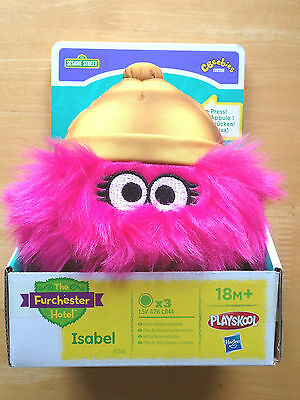 Sesame Street - The Furchester Hotel – ISABEL Plush Toy - NEW