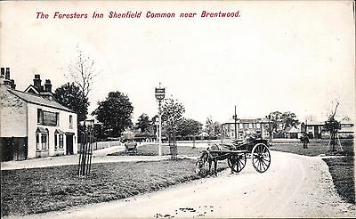Shenfield Common near Brentwood. The Foresters Inn # 2033 by Charles Martin.