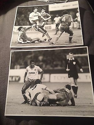 2 PRESS PHOTO´s Watford v Levski Spartak UEFA Cup Ian Richardson Jimmy Gilligan