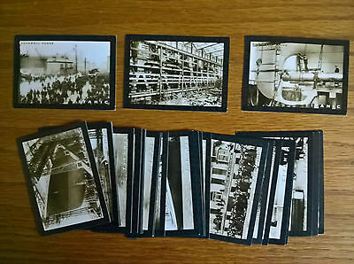 Rockwell trade cards: The Titanic Series large size complete full set