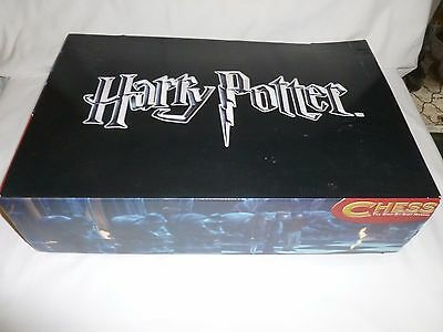 Deagostini Harry Potter Wizard Dragon chess pieces 2 sets incomplete boxed