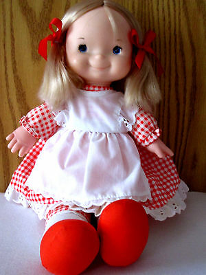 Fisher Price Mary Lapsitter Doll No. 200   Restored And Close To Mint Condition