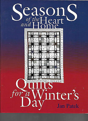 """Jan Patek's """"Seasons of the Heart"""" - An AQS Book with 18 Projects"""
