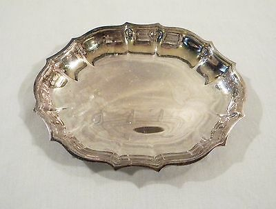 """Vintage ONEIDA OL Silver Plate 7"""" Small Tray Dish Plate"""
