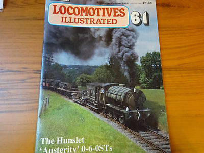 'LOCOMOTIVES ILLUSTRATED No.61' THE HUNSLET 'AUSTERITY' 0-6-0STs.