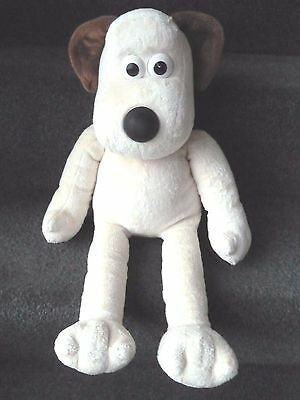 """✨ Wallace and Gromit Gromit dog Aardman  approx 18""""~soft toy plush ~  RARE ✨"""