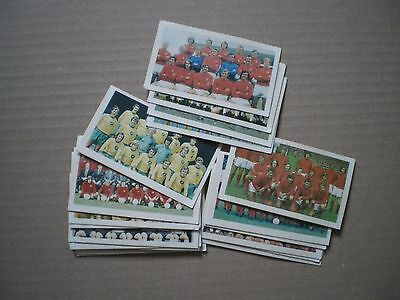 Collection Of Daily Mirror Mirrorcards - Football - Numbers 25-44