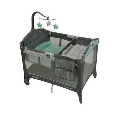 Graco Pack 'n Play Playard with Change 'N Carry Changing Pad - Manor - Brand New