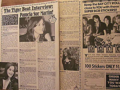 Pamela Sue Martin, Nancy Drew, Two Page Vintage Clipping