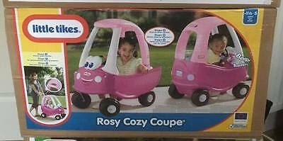 Little Tikes Classic Cozy Coupe Car Rosy Kids Baby Indoor Outdoor - Brand New