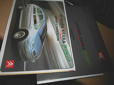 2001 2002 2003 Citroen Picasso Owners Handbook & Audio Guide In Wallet