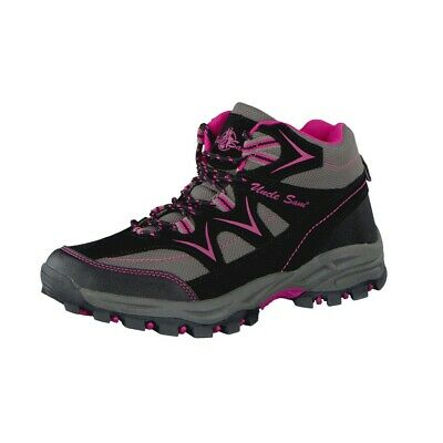 Uncle Sam Ladies Outdoor Boots in Grey/Pink
