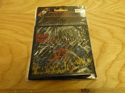 Iron Maiden - Numder Of The Beast (New) Sew On W-Patch Official Band Merchandise
