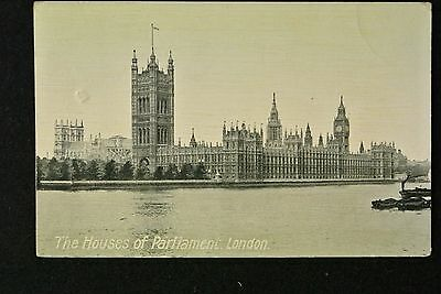 THE HOUSES OF PARLIAMENT , LONDON - dated 1915
