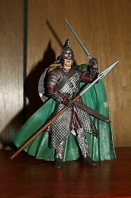 Lord Of The Rings Rohirrim With Spear Attack The Two Towers Action Figure Toybiz