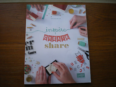Retired Stampin Up Idea Book Catalog 2014-2015