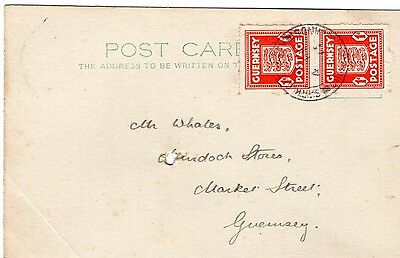 Sark, Nice Commercial Postcard From Sark During German Occupation